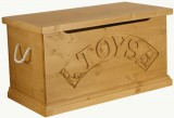 Hibba Classic Pine Traditional Toy Box