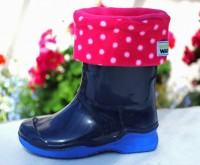 Children's Spot Welly Warmas