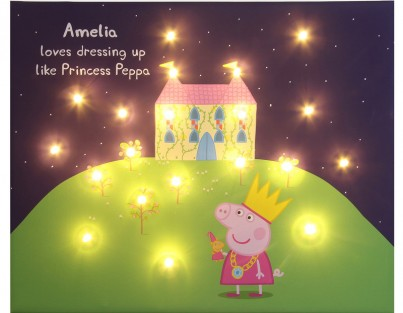 Princess Peppa with starry sky - Personalise Yours Today
