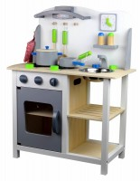 Mini Kitchen With Utensils and Accessories
