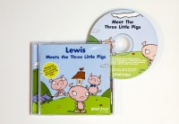 Personalised Story CD....Meets The Three Little Pigs