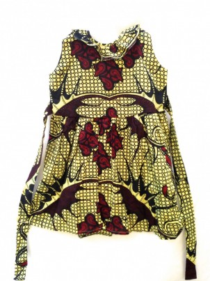 Safari Nyekundu dress