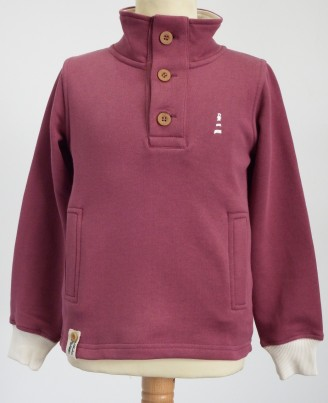 Cape Beale Sweatshirt - Pershaw Plum