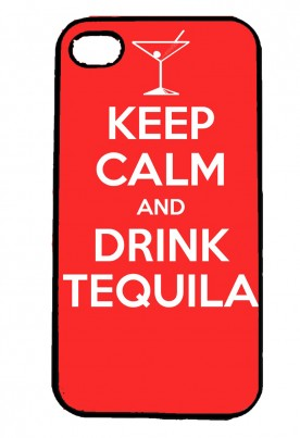 Keep Calm and Drink Tequila IPhone Case Will Fit iPhone 4, 4s & 5