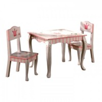 Teamson Princess & Frog Table & Chair Set