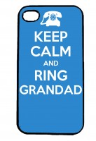 Keep Calm and Ring Grandad IPhone Case Will Fit iPhone 4, 4s & 5
