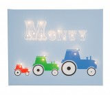 Tractor - Personalised Illuminated Canvas