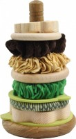 Mini Pistachio Stacking Hoops