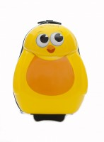 Chico the chick Cutie hard trolley case from the Cuties and Pals