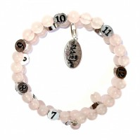 Rose Quartz Mummy Bracelet