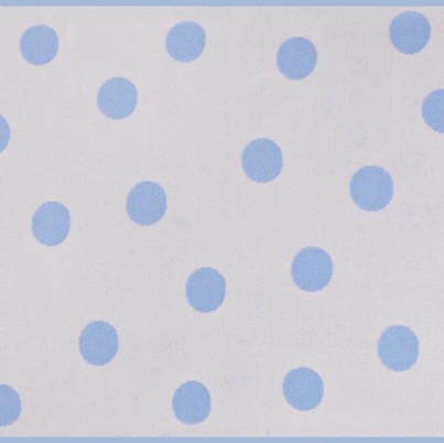 Blue Polka Dot reverse side shown