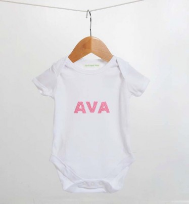 Handsewn Personalised Bodysuit