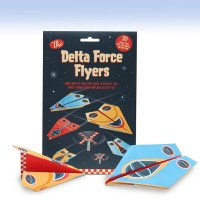 Delta Force flyers paper plane kit