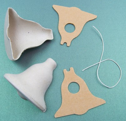 The components required to make one Bell
