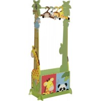 Teamson Sunny Safari Clothing Rack inc 4 Hangers