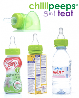 Chillipeeps NEW 3in1 Teat