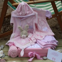 Sleep Shore Summer Baby Girl Gift - Silver