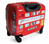 London Sticker Bus Trolley Case by The Cuties and Pals