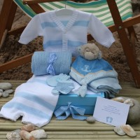 Sleep Shore Summer Baby Boy Gift - Silver