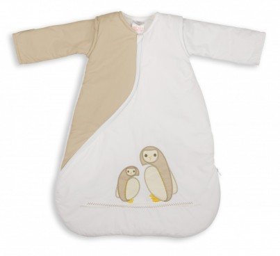 SLEEPSAC 3-9 MONTHS 1 TOG - OWL NATURAL