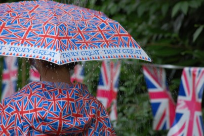 Union Jack Compact Umbrella