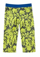 UFO Yellow Tropical Crop Pant