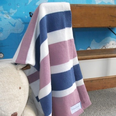 Girls Cambridge Lambswool Blanket