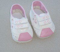 Dolls Shoes - White Trainers