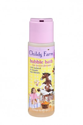 Clean, calm & collected. Bubble bath for sweet dreams