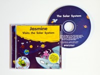 Personalised Story CD....Visits The Solar System