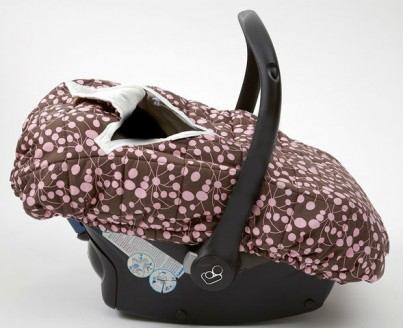 Travel Cover Side View Cosy Car Seat Cover for Group 0 infant car seat