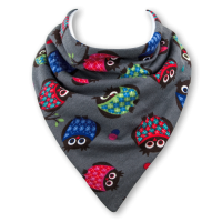 Baby dribble bib by Babble Bib Night Owl
