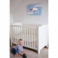 Personalised Bi-Planes Illuminated Canvas Night Light