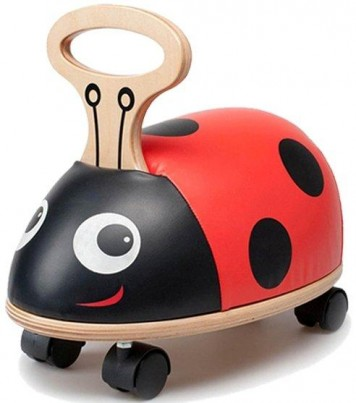 Skipper Ride 'n Roll crazy creature Ladybird