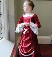 Childrens Historical Victorian Lady/Woman Fancy Dress Costume