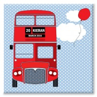 London Bus Personalised Canvas
