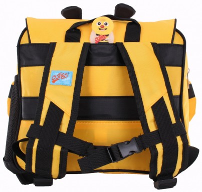 Cazbi the Bee Soft School Backpack