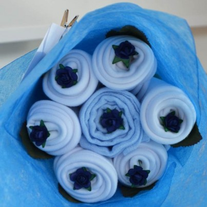 Daisy Bouquet Blue