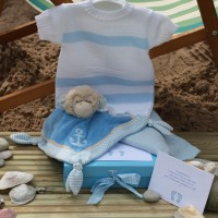 Sleep Shore Summer Baby Boy Gift - Bronze
