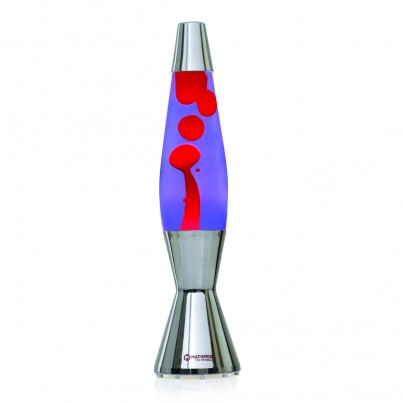 Mathmos Astro Baby Lava Lamp Violet/Red