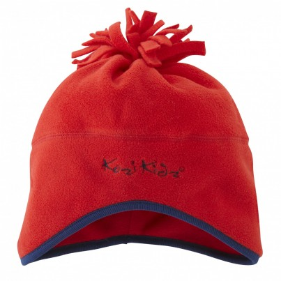 Microfleece Hat Red