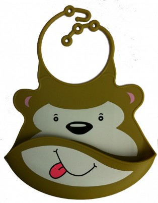 Catch All Baby and Toddler Bib - Marvin Monkey