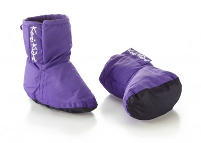 Early Years Rain Bootees Dark Lilac