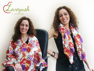 Loveyush Scarf - Primrose (Red)