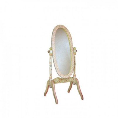 Teamson Crackle Finish Standing Mirror