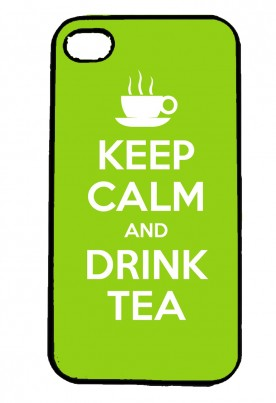 Keep Calm and Drink Tea IPhone Case Will Fit iPhone 4, 4s & 5