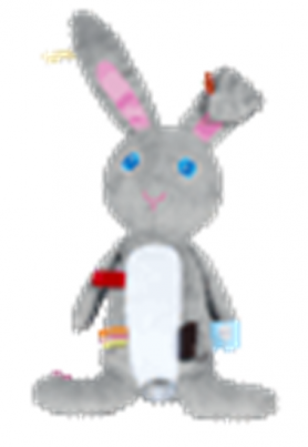 Cuddle Rabbit  Moochi (grey)