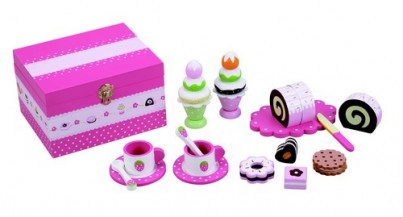 Delicious in Pink - Tea Party Food / Picnic Set Wth 20 Pieces