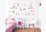 Unicorn Kingdom Wall Stickers
