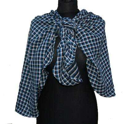 Loveyush Scarf Berkley (Dark Blue)